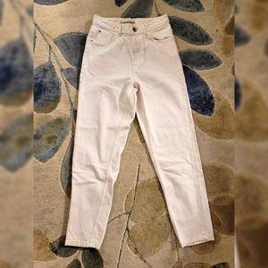 Zara Trafaluc Denimwear White Jean